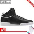 รองเท้าผู้ชาย REEBOK (รีบอค) AR0479,CLUB C 85 MID รองเท้ากีฬาผ้าใบ/หนังสีดำ