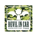 114x114mm Banggood Logo 5% OFF Coupon Car Stickers PVC  ANGEL IN CAR DEVIL IN CAR Decals