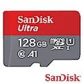 SanDisk 128G 100MB/s Ultra A1 microSDXC U1記憶卡