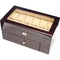 手錶收藏盒【20只入】鋼琴烤漆原木手錶收藏盒/上開窗造型/鋼琴14-1