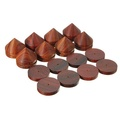 8 Pcs Rosewood Speaker Isolation Stand Feet for CD Player Amplifier DAC Subwoofer Soundbar