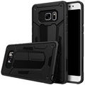Samsung Galaxy Note FE / Fan Edition Case, Nillkin Defender II Series Armor Shockproof Hybrid Protective Hard Case Back Cover for Samsung Galaxy Note FE / Fan Edition (Black) - intl