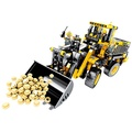 【hi-toys】大型立體拼裝推土機/挖土機工程積木組(688pcs)~與樂高相容
