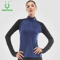 Fit Gym Women Running T-shirt Long Sleeve Top Excercise Tshirt Training Sportswear Athletic Compression Shirt