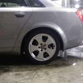 Audi 17吋原廠鋁圈4*加胎皮*4