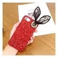 For OPPO R15 Back Covers Laser Cute Rabbit Glitter Cases For OPPO R15 Luxury Bling Hard Cases For OPPO R15 Capas