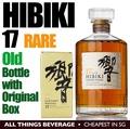 Hibiki 17 Years Whisky Rare old bottle with Original Box