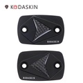KODASKIN Motorcycle CNC Real Carbon Brake and Clutch Caps Fit for Yamaha XMAX XMAX125 XMAX250 XMAX300 XMAX400 Black