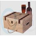 紅酒箱紅酒木盒(NO_好餐廳)六支裝6支紅酒禮盒紅酒木箱木盒六支紅酒木箱~NE北歐風