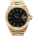 勞力士日期確切手錶表女士K18YG(750)黄色黄金(69178) BRANDOFF GINZA