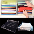 6PCS Clothes Organizer System Closet Drawer Office Desk File Cabinet Laundry Storage Holder Rack - intl