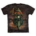 【摩達客】美國進口The Mountain 哈雷騎士 純棉環保短袖T恤[現貨+預購]SAdult成人