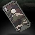 iPhone X iPhone8 iPhone7 Plus iPhone6s 5s SE 迷彩手機殼 迷彩 防摔 手機殼