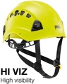 Petzl 透氣型工程安全頭盔/安全帽 A10VYA-HV Vertex Vent 螢光黃