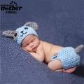 寶寶拍照毛線服飾手工編織造型衣服小狗268