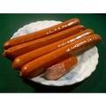 盧師傅火鍋料批發 -關東煮暢銷品--德國香腸(外層是超脆羊腸衣,內包香濃煙燻火腿,耐久煮)