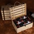紅酒箱六支紅酒木箱紅酒木盒6支裝木箱六只紅酒禮盒紅酒木盒定制