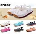 日本專櫃正品代購CROCS洞洞鞋女鞋復刻瑪麗珍沙灘鞋平底休閑鞋護士鞋防滑涼鞋拖鞋包頭涼鞋護士鞋拖鞋
