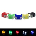 New Silicone Bicycle Safety Lighting LED Light Lamp Flashlight Bike #2A27  #F