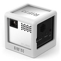 RIF6 Silicone Electronics Case for Cube Mobile Projector or Mini Wireless Speaker … (White) - intl