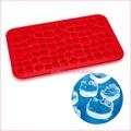 asdfkitty可愛家☆KITTY紅色小粒製冰盒/矽膠模型/冰塊模/巧克力模/果凍模/布丁模/軟糖模/鬆餅模-日本正版