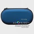 PS Vita 專用新潮亮澤硬殼包-明耀藍