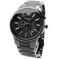 ARMANI AR1451 亞曼尼 手錶 47mm 陶瓷 三眼計時 男錶 女錶