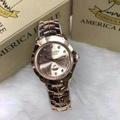 นาฬิกา America Eagle สาย Pink gold หน้าปัด Pink Gold