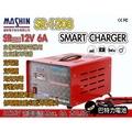 (巴特力)麻新 汽車專用 SR-1208全自動電池充電器、電池充電機
