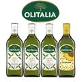 【Olitalia奧利塔】特級初榨橄欖油+葵花油禮盒組(1000mlx4瓶)