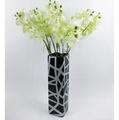 歐式家居 抽象藝術風格 陶瓷工藝品花瓶(白色/黑色) 花瓶花器