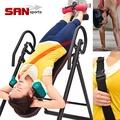 【SAN SPORTS】旗艦頂級倒立機(護頸海綿+安全帶)B007-6305無重力迴轉式.科技倒立椅.折疊倒吊椅拉筋機
