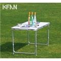 kfan戶外1.2米折疊桌椅休閒野餐燒烤桌鋁合金便攜廣告宣傳展業桌 酷咖精品旗艦店