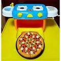 廚房玩具 可收納東西( 二手9成新)( 不包含披薩)