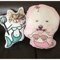 客製化寵物抱枕 客製化寵物造型抱枕 送禮 訂製寵物抱枕 定制寵物抱枕 客製化 訂製 抱枕寵物