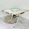 Amos-歡樂趣味折疊麻將桌/折疊桌-寬91x深91x高75cm