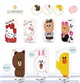 LINE FRIENDS X GRAMMA Cartoon portable 10000mah power bank powerbanks