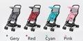 Seebaby A2 Mini portable Stroller