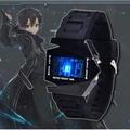 刀劍神域LED多功能防水電子錶 鈦鋼手環 手錶手環cos動漫周邊