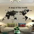 世界地圖 壓克力立體壁貼