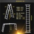 👍5/9 現貨免運【登高神器】12米變型金剛八段式摺疊鋁梯