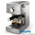 PHILIPS 飛利浦-Saeco POEMIA 家用半自動義式咖啡機HD8327(二入組)