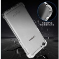 Transparent Slim Shockproof Case For OPPO R9S