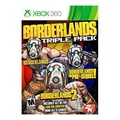 [2K Games] Borderlands Triple Pack - Xbox 360 [From USA] - intl
