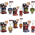 Funko pop death hulk Hulk Captain America Iron Man Raytheon Spiderman Q version key chain hand office