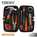 【TRENY】9件 工具組(工具箱)