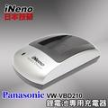 日本iNeno專業製造大廠Panasonic VW-VBD210專業鋰電池充電器