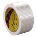 """Bi-Directional Filament Tape, 50mm x 50m, 3\ Core, Clear"""""""