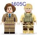 磚塊積木-1605C女特務和軍人相容LEGO非樂高