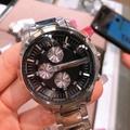 美國連線預購區-AX三眼黑底手錶